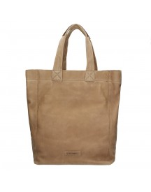 Shabbies Amsterdam Utah Shopping Bag Large Light Brown afbeelding