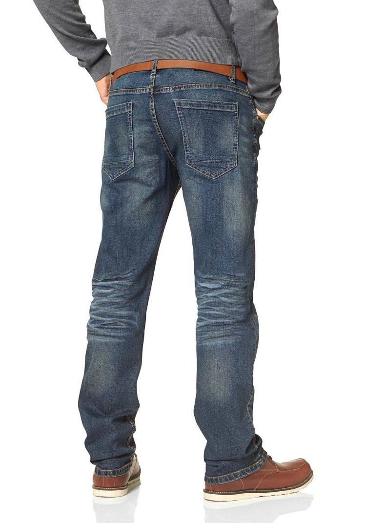 Image John Devin Straight Fit-jeans In Used-wassing