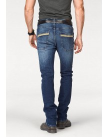 Nu 15% Korting: Bruno Banani Straight-jeans »liam (stretch)« afbeelding