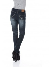 Cheer Skinny-jeans In Used-wassing afbeelding