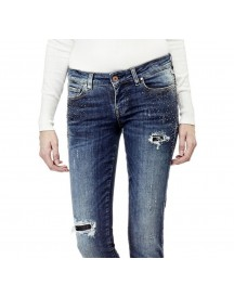Guess Jeans Skinny Strasapplicaties afbeelding