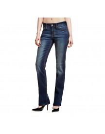 Nu 15% Korting: Guess Jeans »cigarette Mid Dark Blue Wash« afbeelding