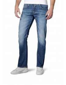 Nu 20% Korting: Mustang Stretchjeans Oregon Straight afbeelding