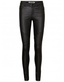 Nu 21% Korting: Noisy May Lucy Nw Gecoate Biker Jeans afbeelding