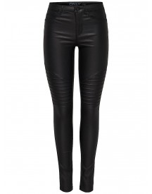 Only New Royal Coated Biker Skinny Jeans afbeelding