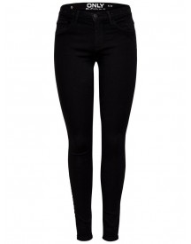 Only Rie Reg Eyelet Skinny Jeans afbeelding