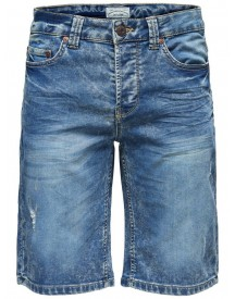 Only & Sons Denim Short afbeelding