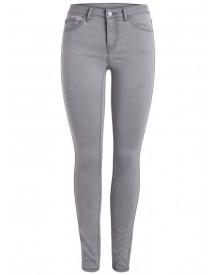 Pieces Normal Waist Gewassen Jeggings afbeelding