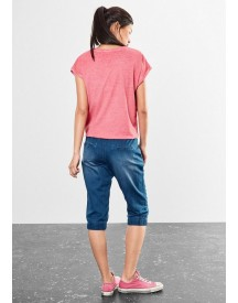 Q/s Designed By Moderne Denim Capribroek afbeelding