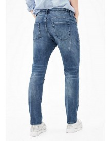 S.oliver Red Label Casual Boyfriend: Jeans Met Artwork afbeelding