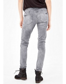 Nu 20% Korting: S.oliver Red Label Shape Superskinny: Jeans In Destroyed Look afbeelding
