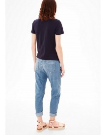 Nu 21% Korting: S.oliver Red Label Bowleg: Denim Met Applicaties afbeelding