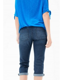S.oliver Red Label Shape Capri: Smalle Jeans afbeelding