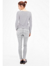 S.oliver Red Label Shape Superskinny: Grijze Stretchjeans afbeelding