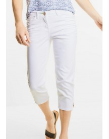 Street One Witte Capri-jeans Charlize afbeelding