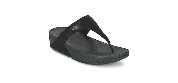 Image Teenslippers Fitflop Shimmy Suede Toe-post