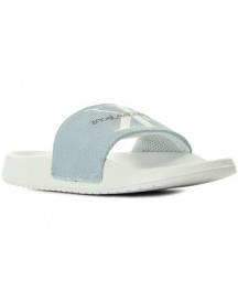 Slippers Calvin Klein Jeans Chantal Heavy Canvas Chambray afbeelding