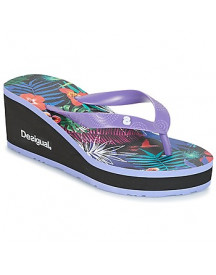 Teenslippers Desigual Lola-tropical afbeelding