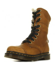 Knielaarzen Dr Martens Aimilita Fl Tan Grizzly afbeelding