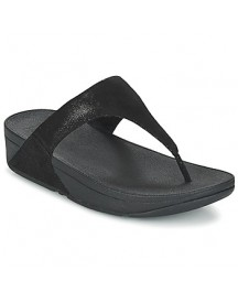Teenslippers Fitflop Shimmy Suede Toe-post afbeelding