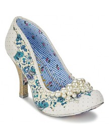 Pumps Irregular Choice Pearly Girly afbeelding
