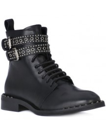 Enkellaarsjes Juice Shoes Tacco Black afbeelding