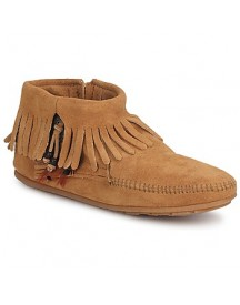 Laarzen Minnetonka Concho Feather Side Zip Boot afbeelding