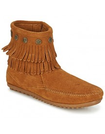 Laarzen Minnetonka Double Fringe Side Zip Boot afbeelding