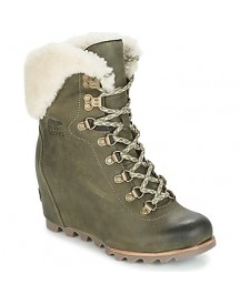 Enkellaarsjes Sorel Conquest Wedge Shearling afbeelding