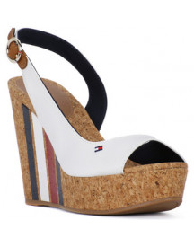 Sandalen Tommy Hilfiger 121 Wedge With Stripes afbeelding
