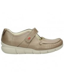 Mocassins Wolky 01500 Yukon - 80150 Taupe Leer afbeelding