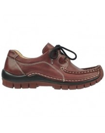 Mocassins Wolky 04732 Kick Winter - 20510 Bordeaux Leer afbeelding