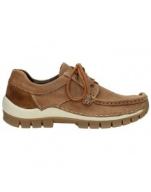 Mocassins Wolky 04734 Seamy Fly Winter - 10430 Cognac Nubuck afbeelding