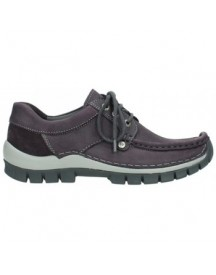 Mocassins Wolky 04734 Seamy Fly Winter - 10600 Paars Nubuck afbeelding