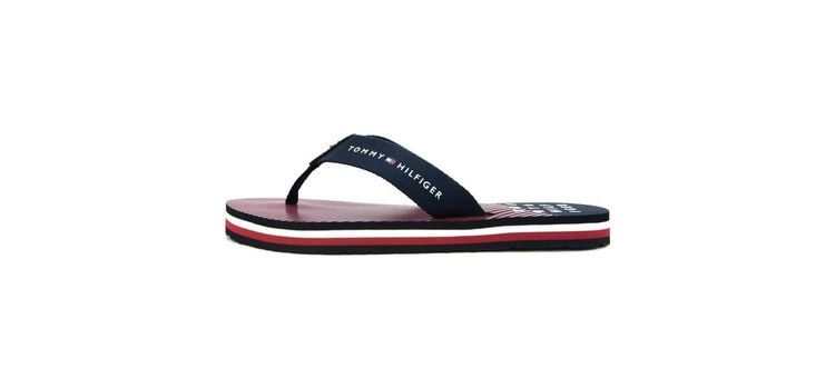 Image Teenslippers Tommy Hilfiger Essential Stripe Beach Sandal