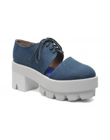 Veterschoenen Delonge By Jeffrey Campbell afbeelding