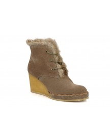 Boots En Enkellaarsjes New Aki Crepe Desert Botte By No Name afbeelding