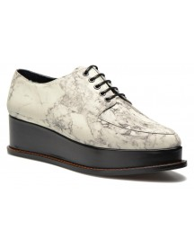 Veterschoenen Marble Leather Eleanora Platform By Opening Ceremony afbeelding