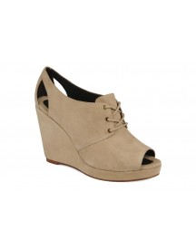 Veterschoenen Wedge Derby By Tila March afbeelding