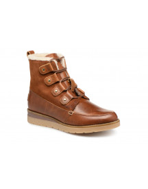 Boots En Enkellaarsjes Vmane Leather Boot By Vero Moda afbeelding