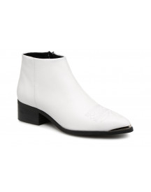 Boots En Enkellaarsjes Vmbella Leather Boot By Vero Moda afbeelding