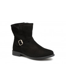 Boots En Enkellaarsjes Vmday Leather Boot By Vero Moda afbeelding