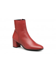 Boots En Enkellaarsjes Vmkila Leather Boot By Vero Moda afbeelding