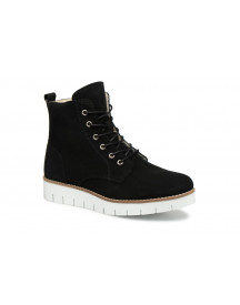 Boots En Enkellaarsjes Vmmella Leather Boot By Vero Moda afbeelding