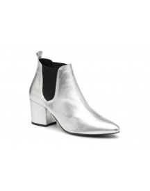 Boots En Enkellaarsjes Vmnice Leather Boot By Vero Moda afbeelding