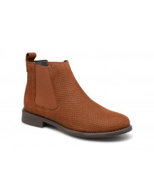 Boots En Enkellaarsjes Vmnilla Leather Boot By Vero Moda afbeelding