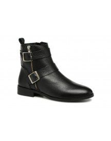 Boots En Enkellaarsjes Vmsino Leather Boot By Vero Moda afbeelding
