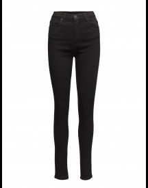 Amy 002 Satin Black, Jeans 2nd One Jeans afbeelding
