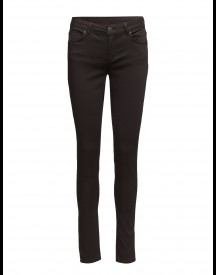 Nicole 006 Moon Black Satin, Jeans 2nd One Jeans afbeelding