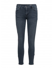 Nicole 106 Zip, Smoke Blue, Jeans 2nd One Jeans afbeelding
